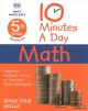 Cover for 10 minutes a day math: 5th grade workbook