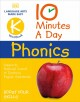 Cover for 10 minutes a day Phonics. K workbook