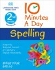 Cover for 10 minutes a day Spelling. 2nd grade workbook