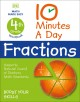 Cover for 10 minutes a day fractions. 4th grade workbook