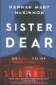 Cover for Sister dear