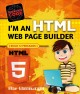 Cover for I'm an HTML web page builder