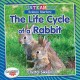Cover for The life cycle of a rabbit