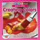 Cover for Creating colors