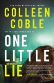Cover for One little lie