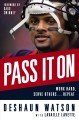 Cover for Pass it on: work hard, serve others-- repeat