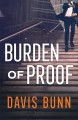Cover for Burden of proof