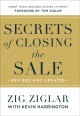 Cover for Secrets of closing the sale