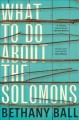 Cover for What to do about the Solomons