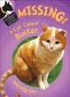 Cover for Missing! A cat called Buster
