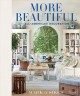 Cover for More beautiful: all-American decoration