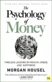 Cover for The psychology of money: timeless lessons on wealth, greed, and happiness