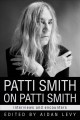 Cover for Patti Smith on Patti Smith: Interviews and Encounters