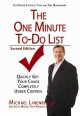 Cover for The one minute to-do list