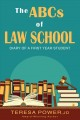 Cover for The Abcs of Law School: Diary of a First Year Student