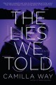 Cover for The lies we told