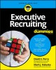 Cover for Executive recruiting for dummies.