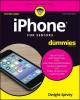Cover for iPhone for seniors for dummies