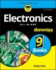 Cover for Electronics all-in-one for dummies