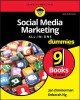 Cover for Social Media Marketing All-in-one for Dummies