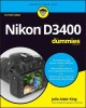 Cover for Nikon D3400 for dummies