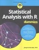 Cover for Statistical Analysis With R for Dummies