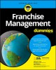 Cover for Franchise management for dummies