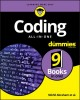 Cover for Coding All-in-one for Dummies