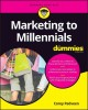 Cover for Marketing to Millennials for Dummies