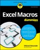 Cover for Excel macros