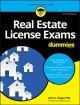 Cover for Real Estate License Exams for Dummies