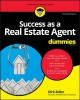 Cover for Success As a Real Estate Agent for Dummies