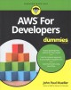 Cover for Amazon Web Services for Developers for Dummies