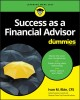 Cover for Success as a financial advisor for dummies