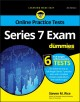 Cover for Series 7 Exam for Dummies With Online Practice