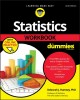 Cover for Statistics Workbook for Dummies With Online Practice