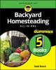 Cover for Backyard homesteading all-in-one for dummies