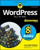 Cover for Wordpress All-in-one for Dummies