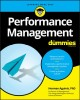 Cover for Performance Management for Dummies