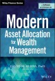 Cover for Modern asset allocation for wealth management