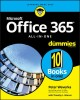 Cover for Office 365 All-in-one for Dummies