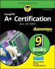 Cover for CompTIA A+ certification all-in-one for dummies
