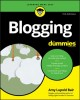 Cover for Blogging