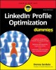 Cover for LinkedIn profile optimization for dummies