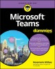 Cover for Microsoft Teams for dummies
