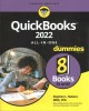 Cover for Quickbooks 2022 All-in-one for Dummies