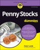 Cover for Penny Stocks for Dummies