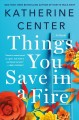 Cover for Things you save in a fire