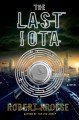 Cover for The last iota
