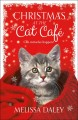 Cover for Christmas at the Cat Café